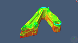 Residual stress after manufacturing