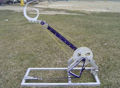 simple catapult design. for this catapult model.