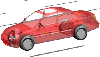 MSC ADAMS Car for Suspension: Curso Online sobre Multi-Dinâmica Corporal